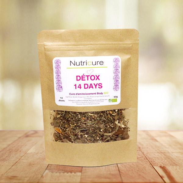 la d tox 14 days nutricure shop cure tisane d tox naturelle et bio. Black Bedroom Furniture Sets. Home Design Ideas