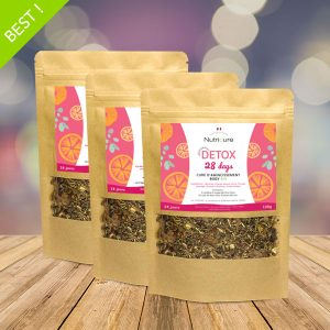 Detox 28 days tisane minceur pack x3