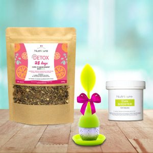 Pack booster tisane minceur detox infuseur